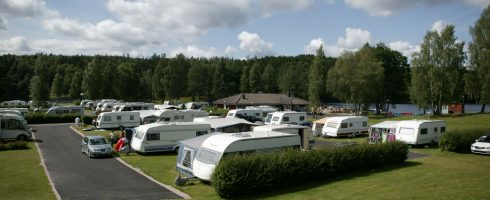 Trailer park with access to shower, toilet and fri wi-fi